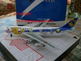 ANA All Nippon Airways B 747-400 Pokemon livery