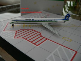 Alaska Airlines MD-83 California Dreaming livery