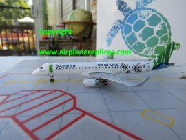 Bamboo Airways Embraer ERJ-195 Save the Turtles livery
