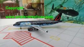 Brussels Airlines A320 TinTin Le Tresor de Rackham le Rouge livery