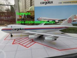Cargolux B 747-400 City of Ettelbruck