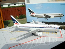 Delta Airlines B 767-200 The Spirit of Delta livery