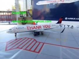 Delta Airlines A321 Thank you livery