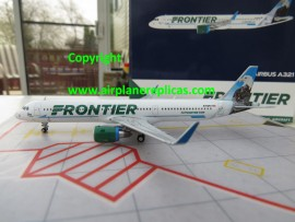 Frontier Airlines A321 Eagle tail livery