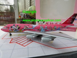 Japan Airlines B 747-400D Dream Express Disney Sweet livery