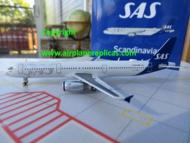 SAS Scandinavian Airlines A321 new livery