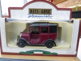 1933 Austin Maroon Taxi